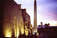 Pylon & Obelisk, Luxor Temple