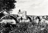 The Chapel St. Nicolas on the Bridge St. Benezet in Avignon