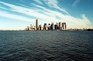 Manhattan Skyline, New York - December 1999