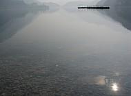 Winter on Lake Ledro