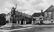 Bonifacius Square and Castle in Fulda