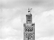 Minaret of Koutoubia in Marrakesh