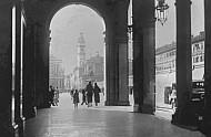 Roma Street, San Carlo Square, Emanuele Filiberto Monument, Turin, Italy