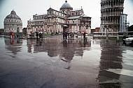 Rainy Pisa, Tuscany