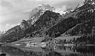 Hintersee with the Millhorns, Berchtesgaden