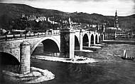 Old Bridge with Castle, Heidelberg