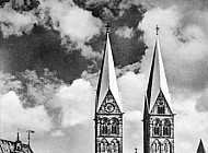 Cathedral & Stock Exchange, Bremen