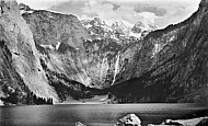 Obersee with Devil Horns and Röthbachfall, Berchtesgaden