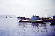 Port, Procida,  Flegrean Islands, Italy