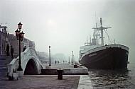 Foggy Day in Venice, Veneto, Italy