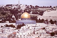 Panorama with Dome of the Rock